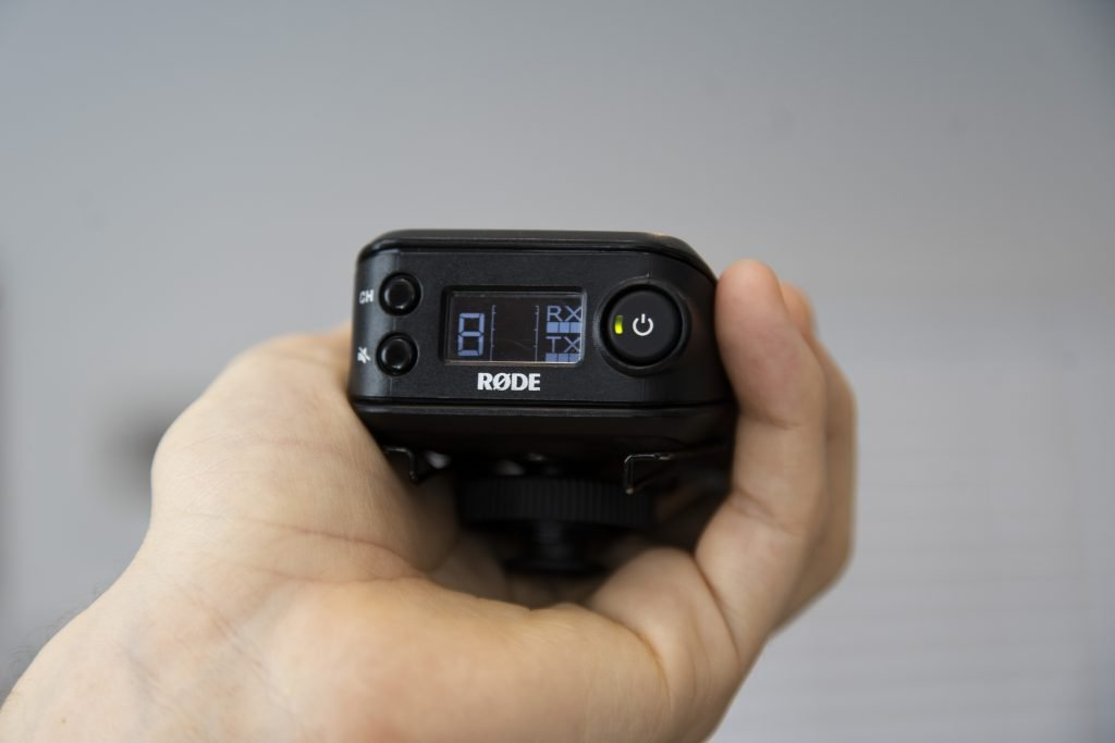 rodelink wireless filmmaker kit bottom side view