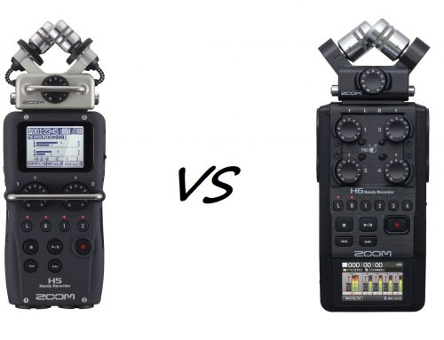 Zoom H5 vs H6: Worth the Upgrade?