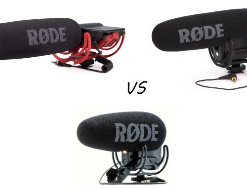 Rode VideoMic vs VideoMic Pro vs VideoMic Pro+